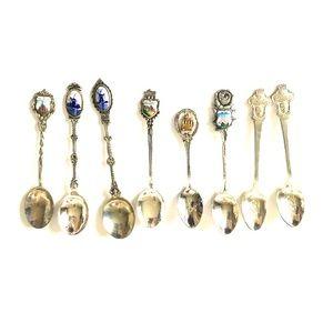 VTG Souvenir Spoons Rolex Portugal Heidelberg
